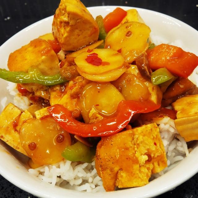 Orange Tofu 2